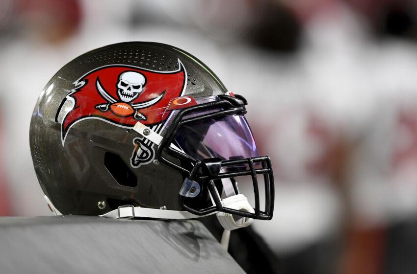 Tampa Bay Buccaneers helmet (Photo by Douglas P. DeFelice/Getty Images)