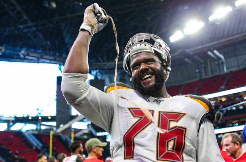 Donovan Smith, Tampa Bay Buccaneers, (Photo by Carmen Mandato/Getty Images)