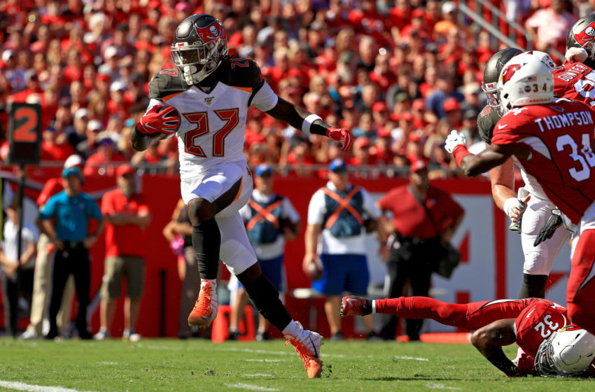 Ronald Jones, Tampa Bay Buccaneers, (Photo by Mike Ehrmann/Getty Images)