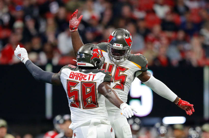 Shaquil Barrett and Devin White, Tampa Bay Buccaneers (Photo by Kevin C. Cox/Getty Images)