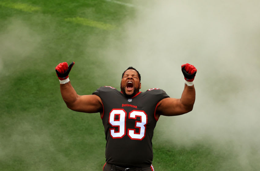 Ndamukong Suh, Tampa Bay Buccaneers (Photo by Mike Ehrmann/Getty Images)