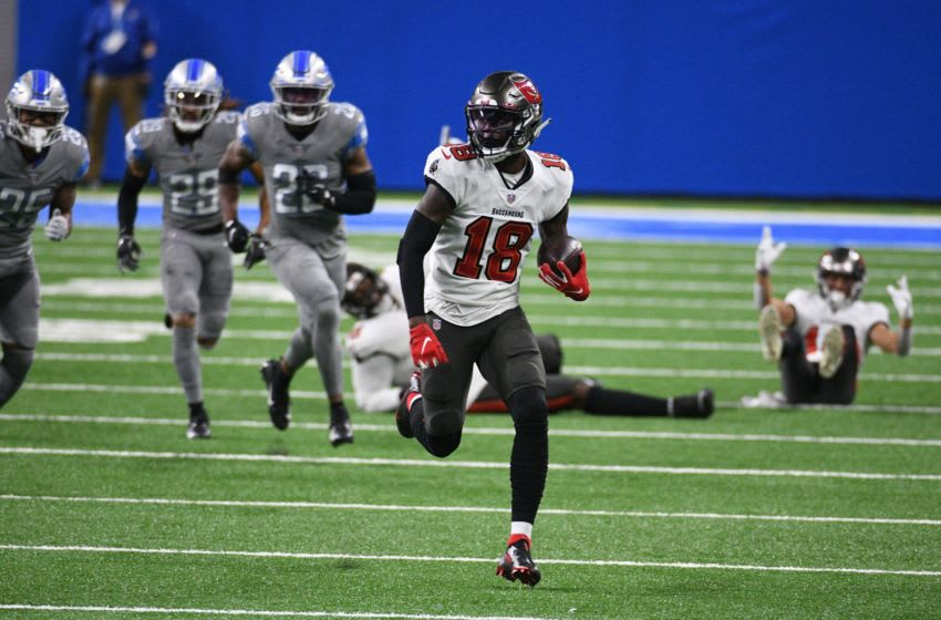 Tyler Johnson, Tampa Bay Buccaneers Mandatory Credit: Tim Fuller-USA TODAY Sports