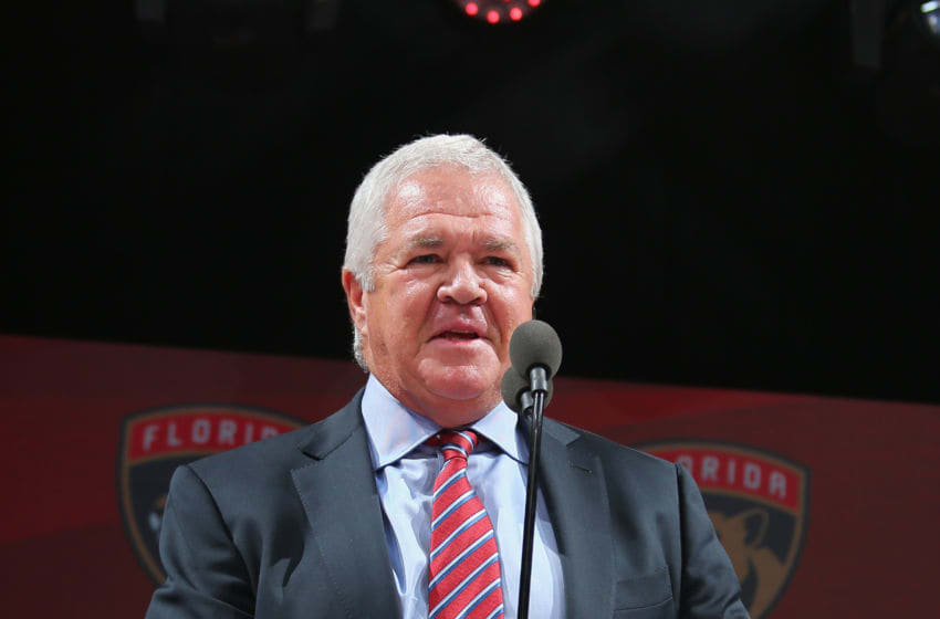 CHICAGO, IL - JUNE 23: Dale Tallon of the Florida Panthers attends the 2017 NHL Draft at the United Center on June 23, 2017 in Chicago, Illinois. (Photo by Bruce Bennett/Getty Images)