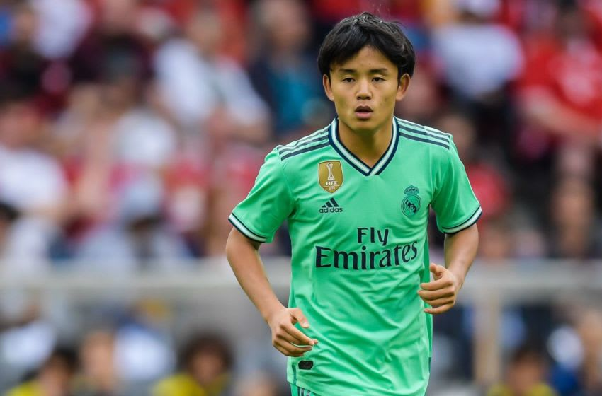 Takefusa Kubo of Real Madrid (Photo by VI Images via Getty Images)
