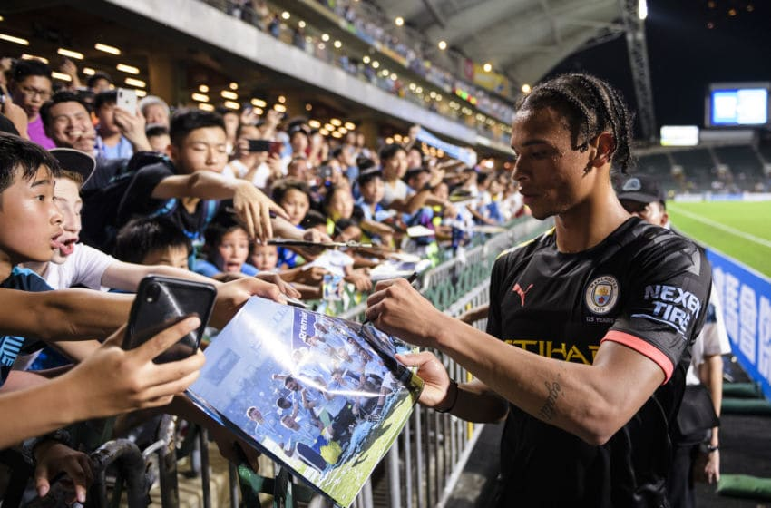 Leroy Sane of Manchester City (Photo by Eurasia Sport Images/Getty Images)