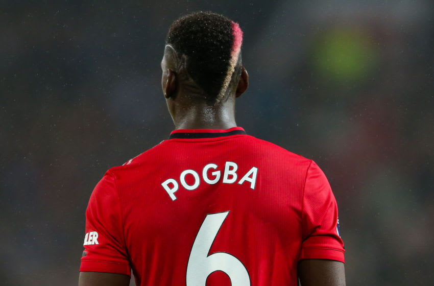 Manchester United's Paul Pogba (Photo by Barrington Coombs/EMPICS/PA Images via Getty Images)