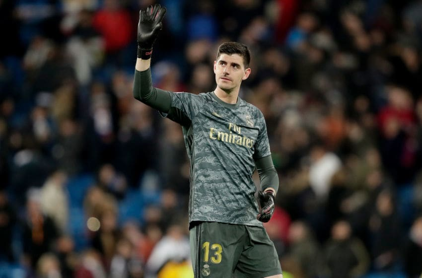 Thibaut Courtois of Real Madrid (Photo by David S. Bustamante/Soccrates/Getty Images)