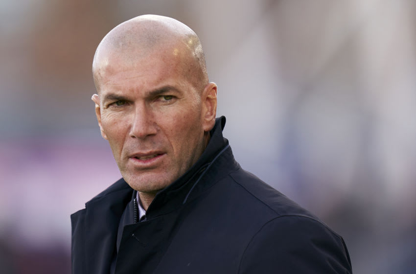 Real Madrid, Zinedine Zidane (Photo by Quality Sport Images/Getty Images)
