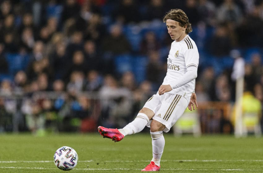 Luka Modric of Real Madrid (Photo by Ricardo Nogueira/Eurasia Sport Images/Getty Images)