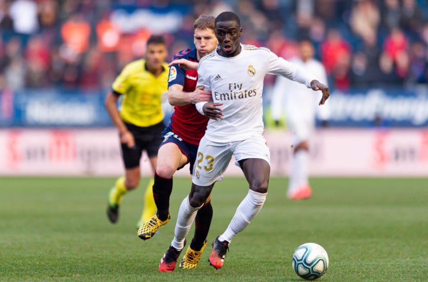Ferland Mendy of Real Madrid (Photo by Alejandro/DeFodi Images via Getty Images)