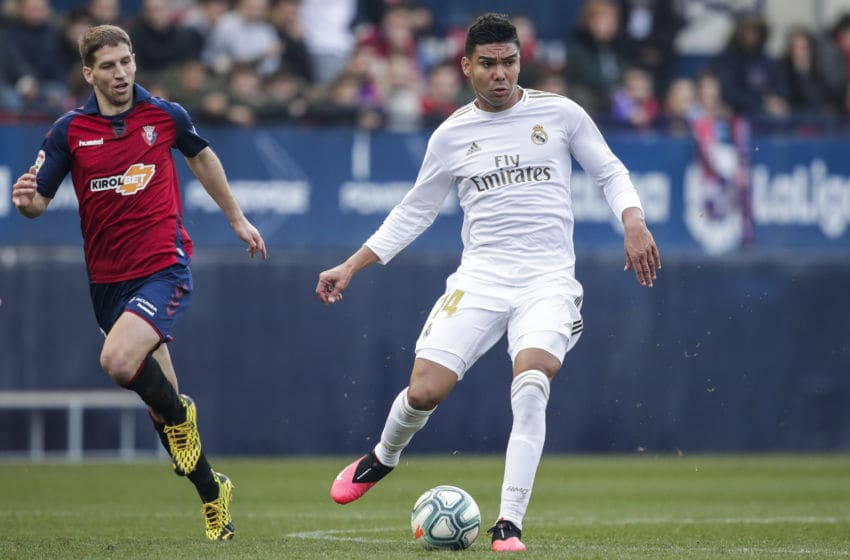 Casemiro of Real Madrid (Photo by David S. Bustamante/Soccrates/Getty Images)