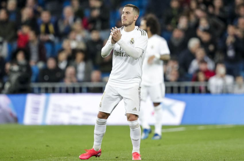 Eden Hazard of Real Madrid (Photo by David S. Bustamante/Soccrates/Getty Images)