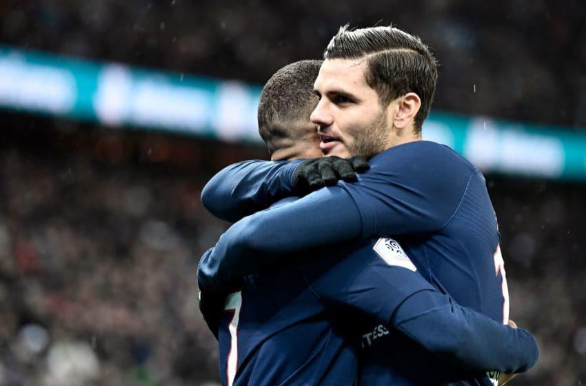 Paris Saint-Germain's Mauro Icardi (Photo by STEPHANE DE SAKUTIN / AFP) (Photo by STEPHANE DE SAKUTIN/AFP via Getty Images)