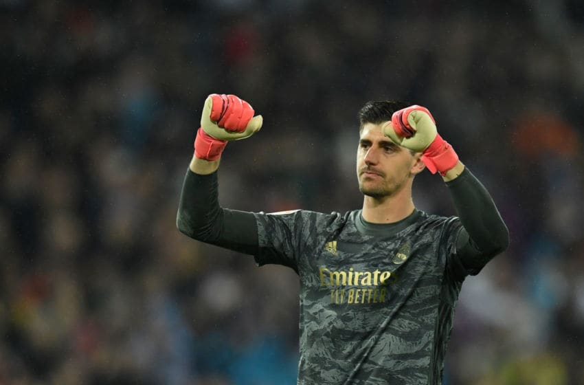 Real Madrid, Thibaut Courtois (Photo by OSCAR DEL POZO/AFP via Getty Images)