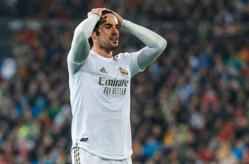 Isco Alarcon of Real Madrid on March 1, 2020 in Madrid, Spain. (Photo by DeFodi Images via Getty Images)