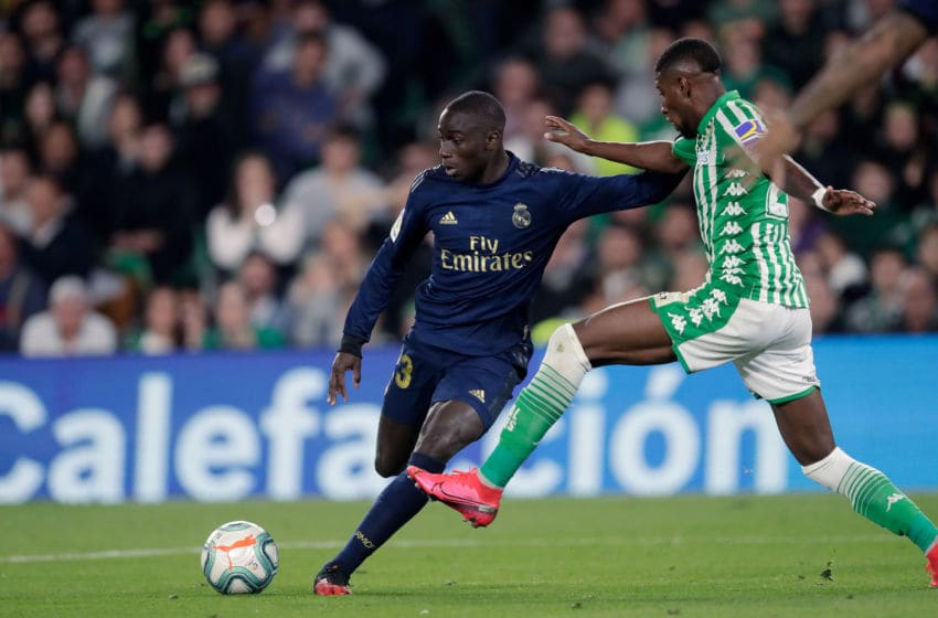 Ferland Mendy of Real Madrid (Photo by Eric Verhoeven/Soccrates/Getty Images)