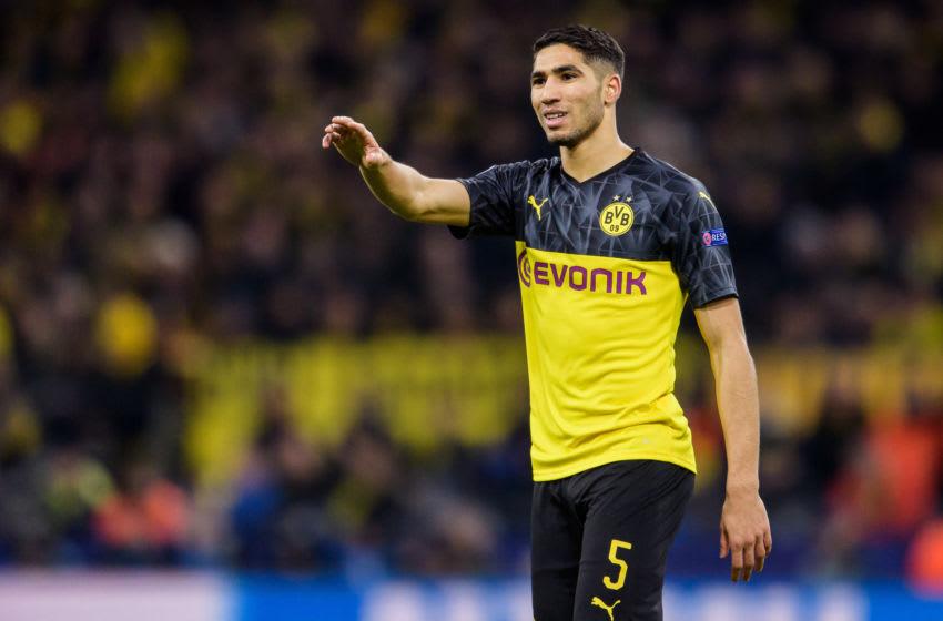 Achraf Hakimi of Dortmund (Photo by Jörg Schüler/Getty Images)