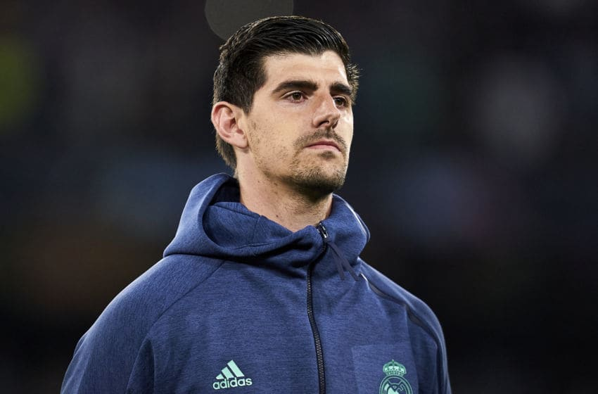 Real Madrid: Thibaut Courtois Could Be Out Against