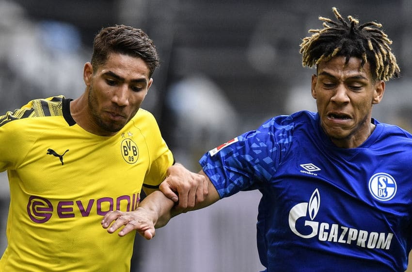 Achraf Hakimi (Photo by MARTIN MEISSNER/POOL/AFP via Getty Images)