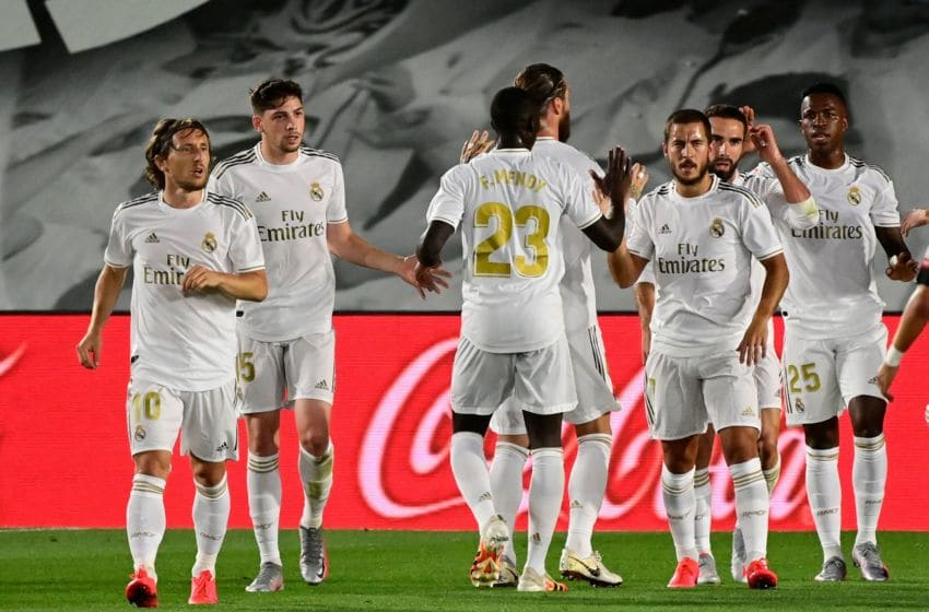 Real Madrid (Photo by JAVIER SORIANO/AFP via Getty Images)
