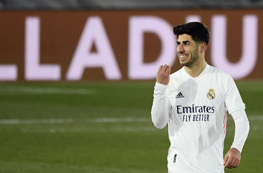 Real Madrid, Marco Asensio (Photo by OSCAR DEL POZO/AFP via Getty Images)