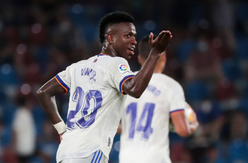 Real Madrid, Vinicius Junior (Photo by Jose Miguel FERNANDEZ / AFP) (Photo by JOSE MIGUEL FERNANDEZ/AFP via Getty Images)