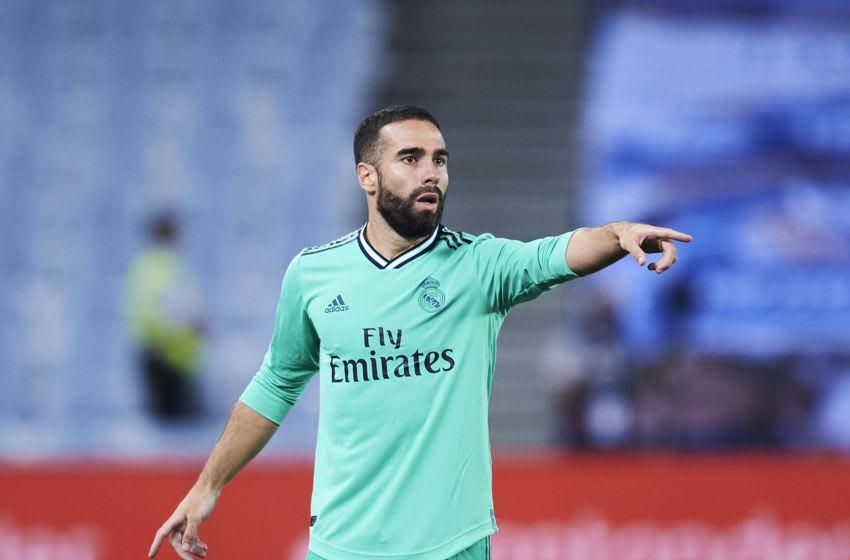 Daniel Carvajal of Real Madrid (Photo by Juan Manuel Serrano Arce/Getty Images)