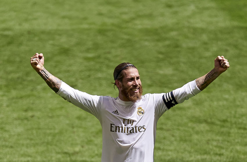 Sergio Ramos of Real Madrid (Photo by Diego Souto/Quality Sport Images/Getty Images)