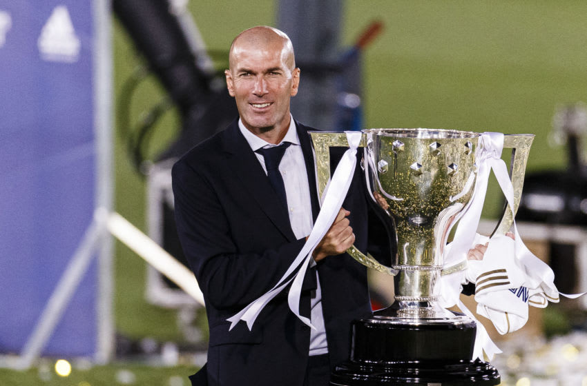 Real Madrid, Zinedine Zidane (Photo by Ricardo Nogueira/Eurasia Sport Images/Getty Images)