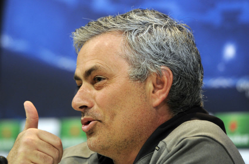 Real Madrid, Jose Mourinho (Photo credit should read DOMINIQUE FAGET/AFP via Getty Images)
