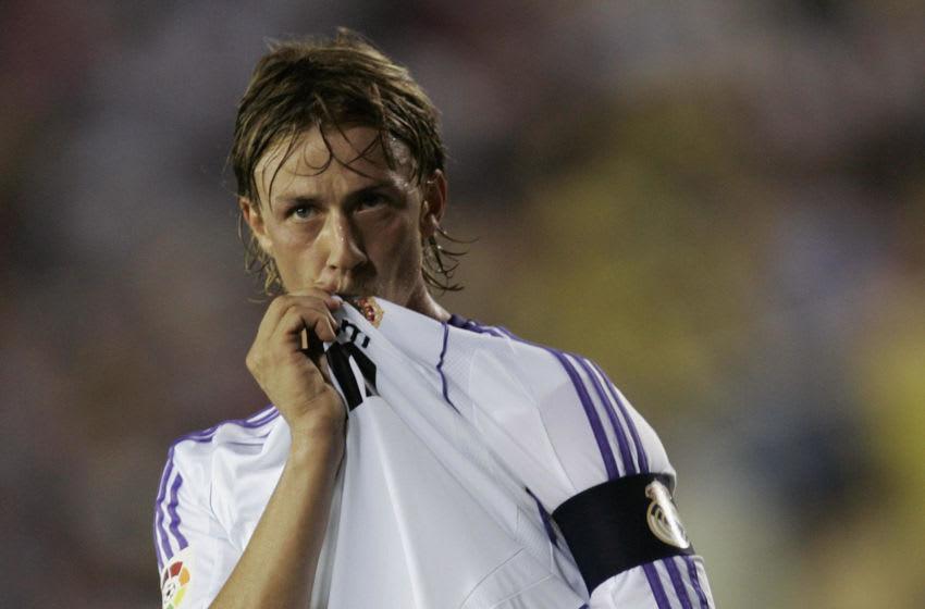 Real Madrid, Guti (Photo credit should read JOSE JORDAN/AFP via Getty Images)