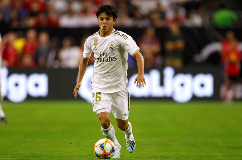 Real Madrid, Takefusa Kubo (Photo credit should read AARON M. SPRECHER/AFP via Getty Images)