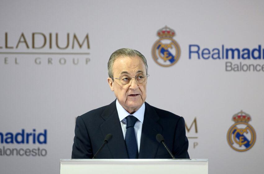 Florentino Perez . (Photo by Samuel de Roman / Getty Images)