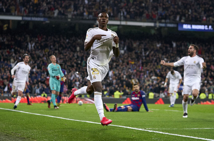 Real Madrid, Vinicius Junior (Photo by Diego Souto/Quality Sport Images/Getty Images)
