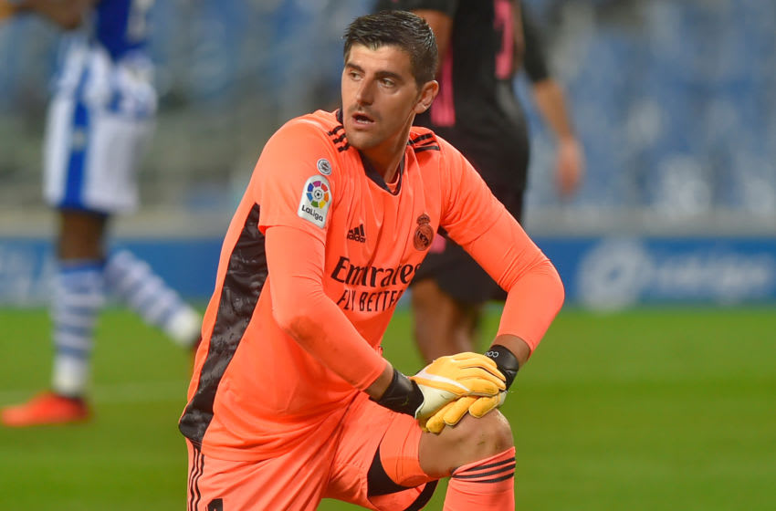 Real Madrid, Thibaut Courtois (Photo by ANDER GILLENEA/AFP via Getty Images)