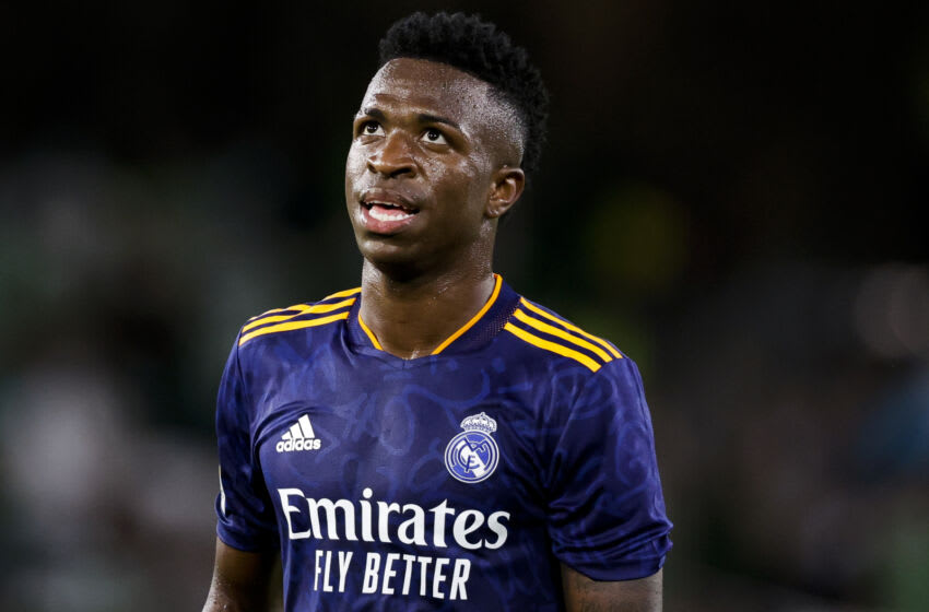 Vinicius Junior of Real Madrid (Photo by David S. Bustamante/Soccrates/Getty Images)