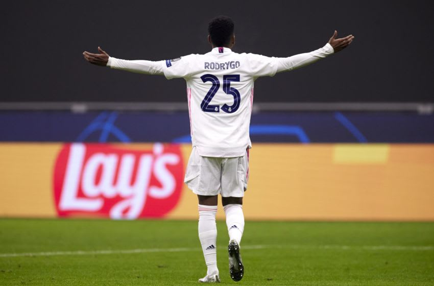 Real Madrid, Rodrygo Goes (Photo by Emmanuele Ciancaglini/Quality Sport Images/Getty Images)