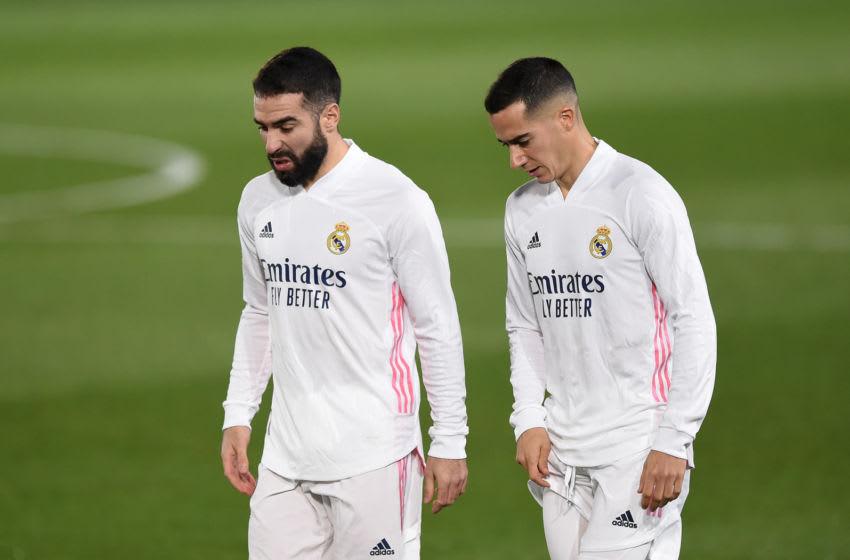 Real Madrid, Dani Carvajal, Lucas Vazquez (Photo by Denis Doyle/Getty Images)
