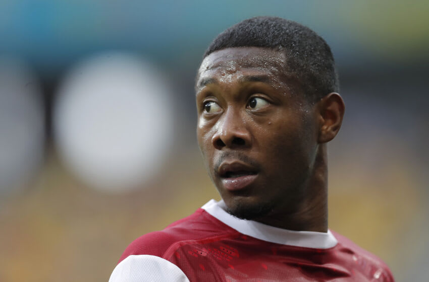David Alaba of Austria (Photo by Robert Ghement - Pool/Getty Images)