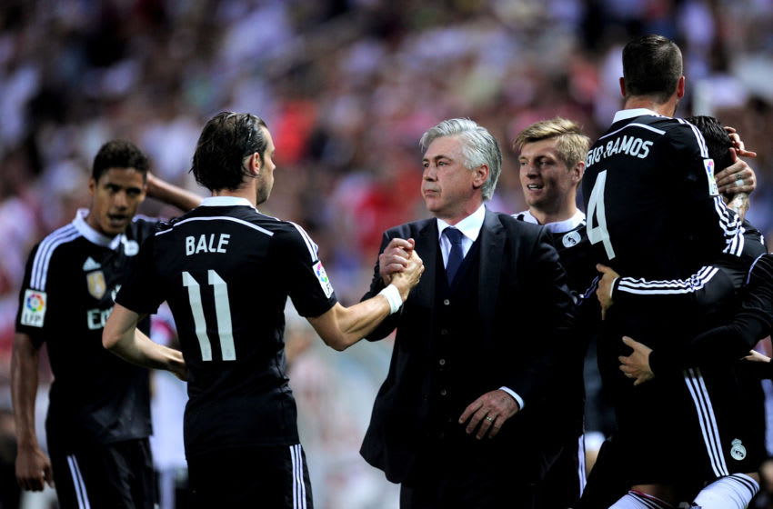 Real Madrid, Gareth Bale, Carlo Ancelotti (Photo by Denis Doyle/Getty Images)