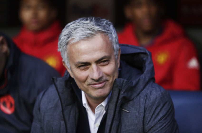 José Mourinho, head coach of Manchester United (Photo by Nils Petter Nilsson/Getty Images)
