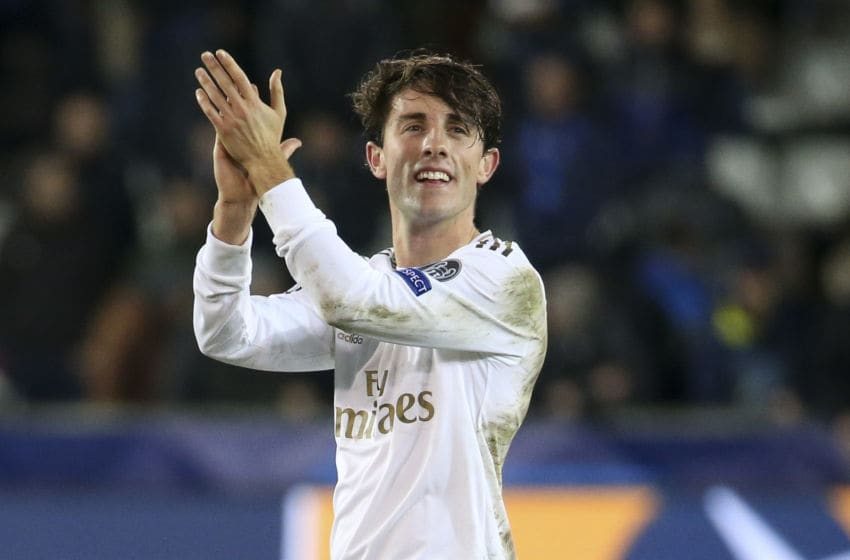 Alvaro Odriozola of Real Madrid (Photo by Jean Catuffe/Getty Images)