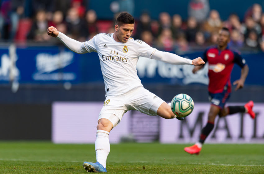 Luka Jovic of Real Madrid (Photo by Alejandro/DeFodi Images via Getty Images)