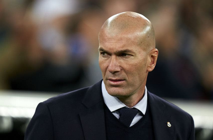 Real Madrid, Zinedine Zidane (Photo by Mateo Villalba/Quality Sport Images/Getty Images)