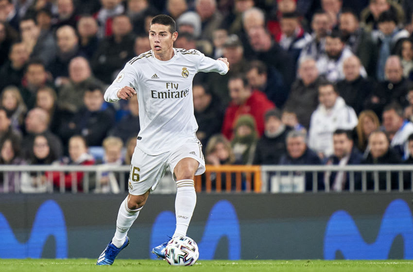 Real Madrid, James Rodriguez (Photo by Quality Sport Images/Getty Images)