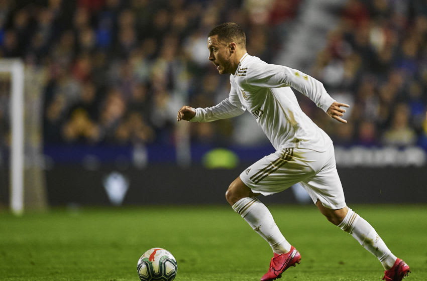 Eden Hazard of Real Madrid (Photo by Silvestre Szpylma/Quality Sport Images/Getty Images)