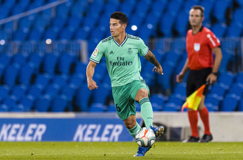 James Rodriguez of Real Madrid (Photo by Ricardo Nogueira/Eurasia Sport Images/Getty Images)