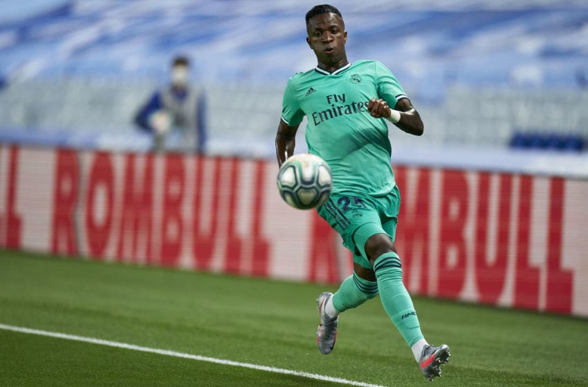 Vinicius Junior of Real Madrid (Photo by Pedro Salado/Quality Sport Images/Getty Images)