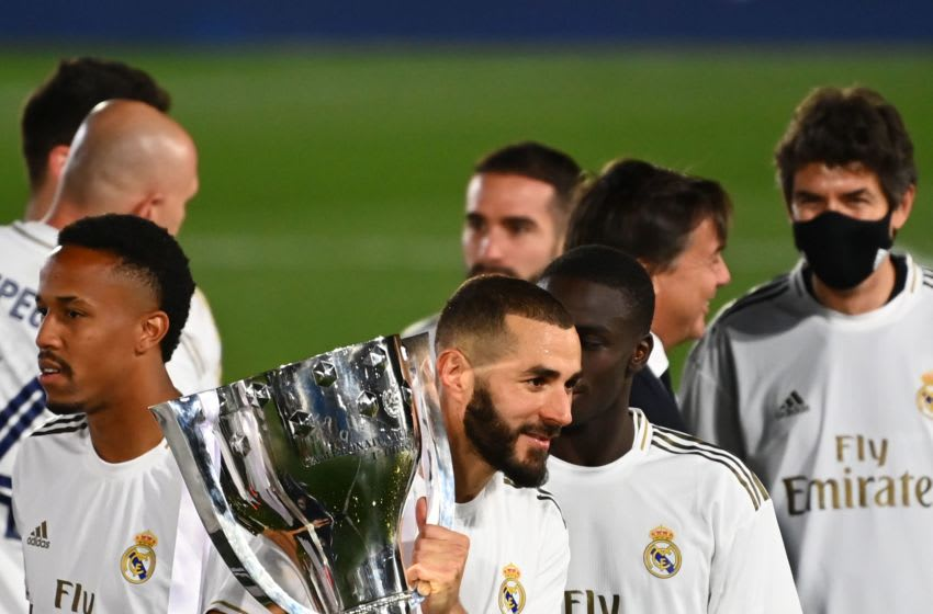 Real Madrid, Karim Benzema (Photo by GABRIEL BOUYS/AFP via Getty Images)
