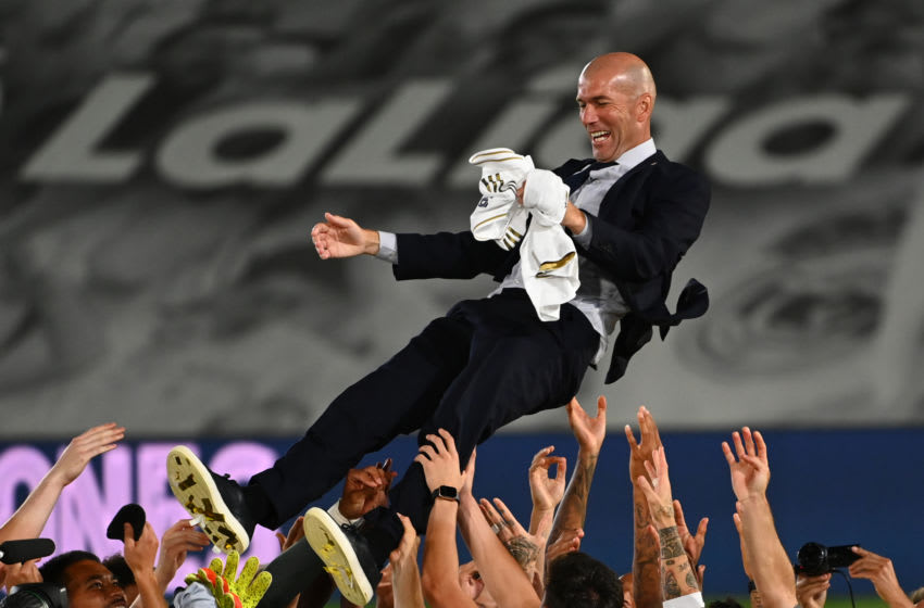 Real Madrid, Zinedine Zidane (Photo by GABRIEL BOUYS/AFP via Getty Images)